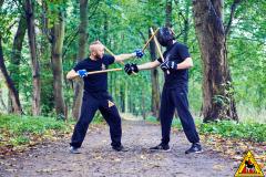 2 kije (double sticks)